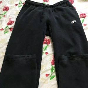 Men's Black Nike Jogging Pants Size Medium